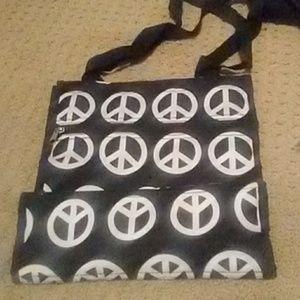 Bags - Peace Sign Tote Bag